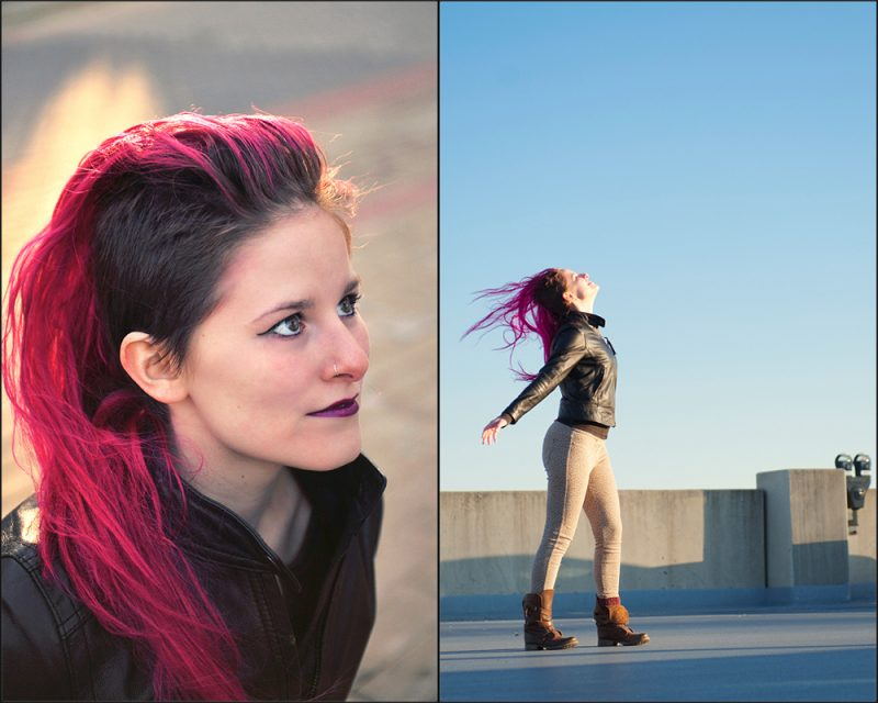 Pink-haired, Punk Pony Princess :: Baltimore County Fashion and Portrait Photographer