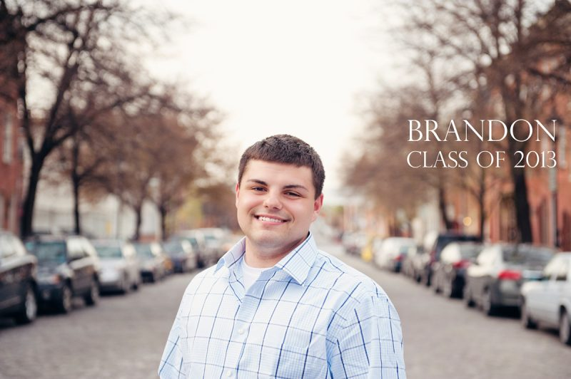 Brandon, Class of 2013 :: Spring Senior Session in Fells Point, Baltimore