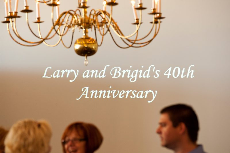 Brigid & Larry Celebrate 40 years! :: Harford County Anniversary Party