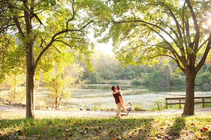 Britney & Shawn are engaged! :: Patapsco Park & Ellicott City Engagement Session