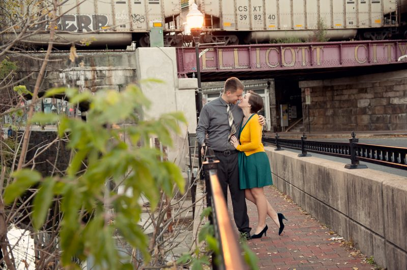 Lauren & Erik! | Lakeside & Downtown Ellicott City Engagement Session