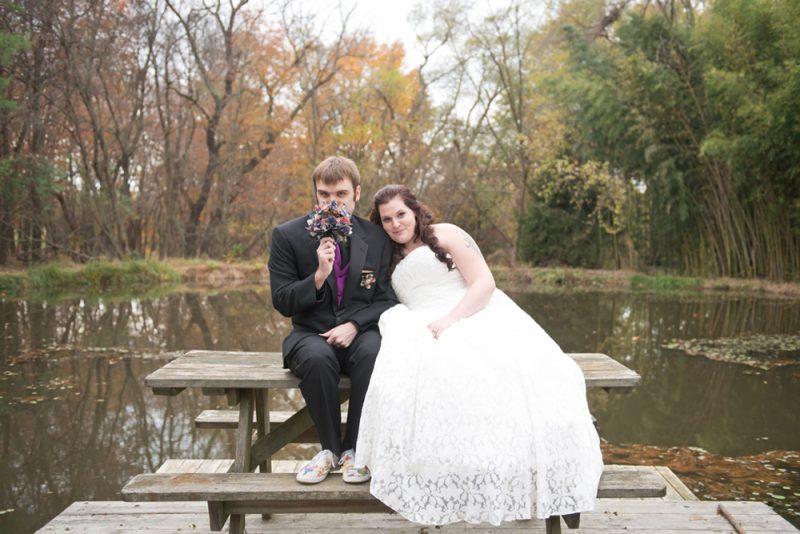 Leigh & Brandon's Halloween Wedding! Baltimore County MD Photographer