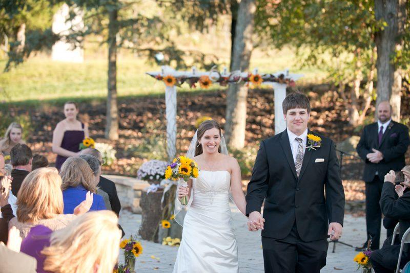 Amanda + Tim :: Rustic Fall Wedding at Round Top Ski, PA Photographer