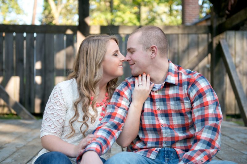 Kelly & Greg Engagement Session :: Jerusalem Mill and Baltimore