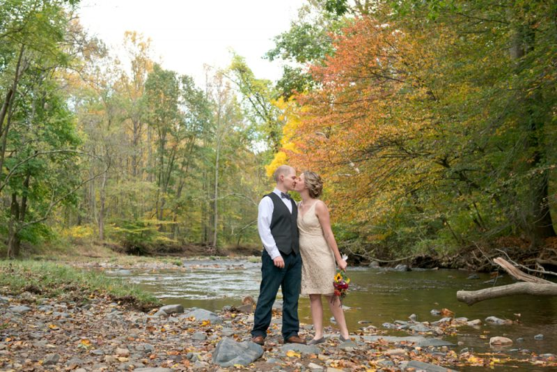 Samantha & Ben are married! Jerusalem Mill Elopement, Maryland Wedding Photographer
