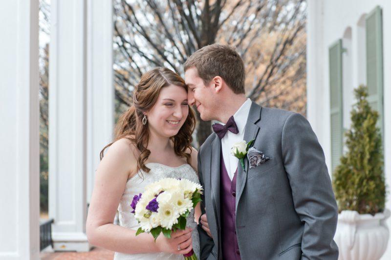 Amanda & Brandon are married! | Grey Rock Mansion, Baltimore County Wedding
