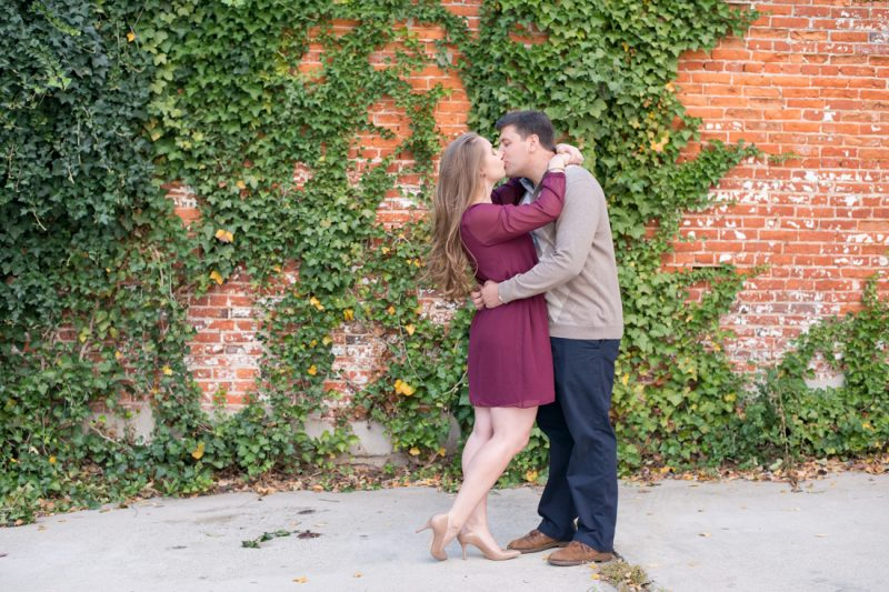 Jess & Shane's Baltimore Engagement Session at Patterson Park & Canton Square