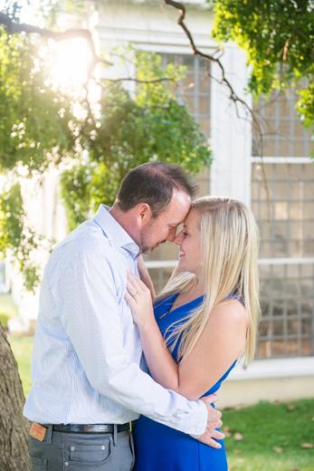 Amanda & Graeme's Towson Engagement Session :: Hampton Mansion & Loch Raven