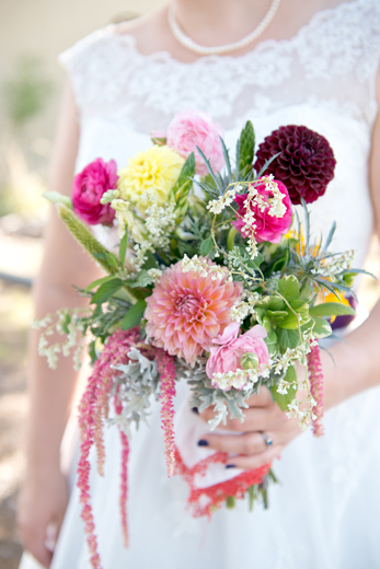 Meredith & Avelino's colorful DIY New Mexico Wedding!