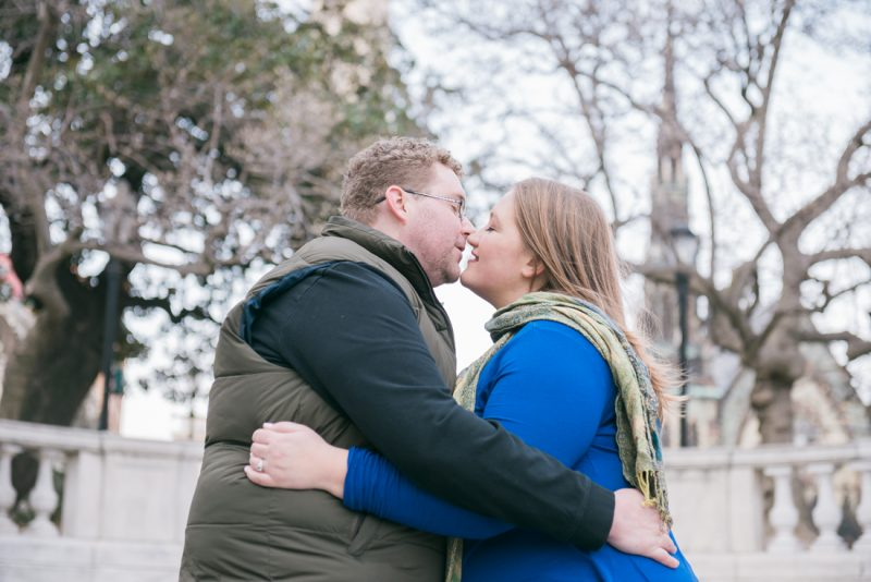 Kristen & Matt's Baltimore Winter Engagement Session