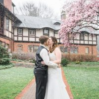 One more snow for James & Rebecca's Spring Wedding at the Gramercy