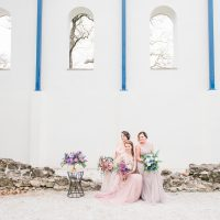 Rose Quartz & Geode Wedding Inspiration