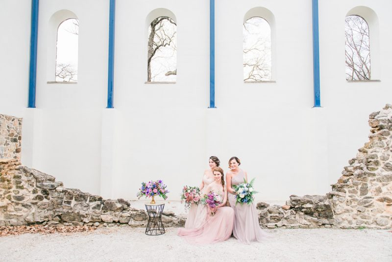 Rose Quartz & Geode Wedding Inspiration