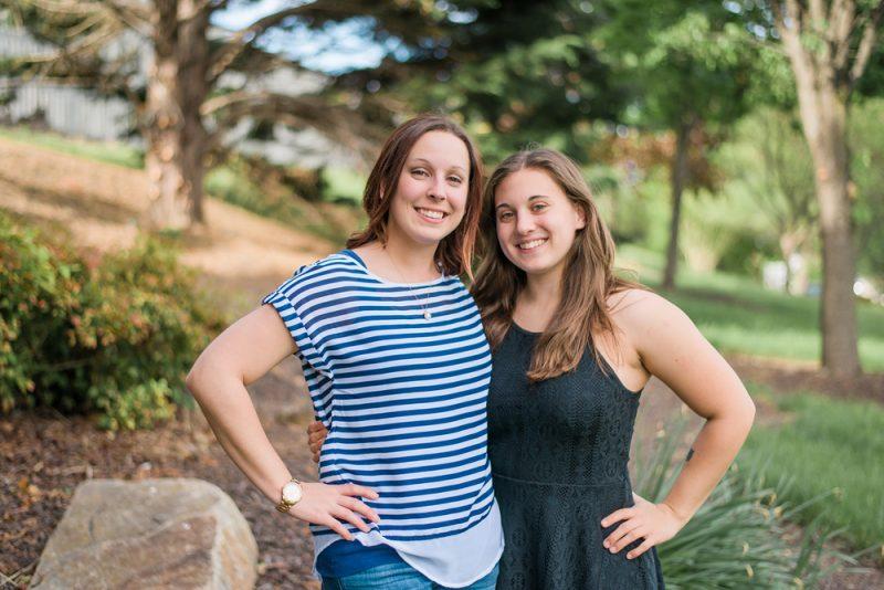 Celebrating Samantha's Towson Graduation!