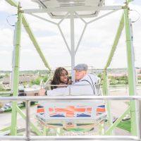Love at the Fair! Christine & John's Carnival Engagement