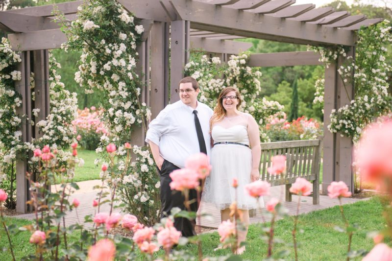Sarah & Robby's Botanical Garden Wedding