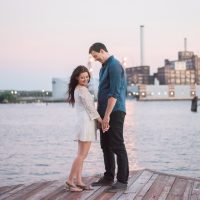 Constance & Kyle's Baltimore Engagement Session