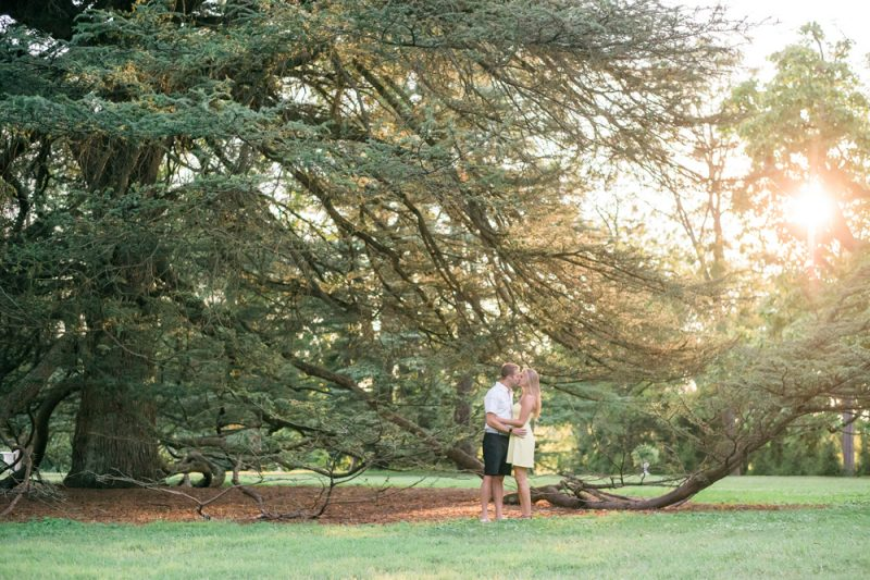 Ally & Brendan | Romantic Summer Engagement, Baltimore MD
