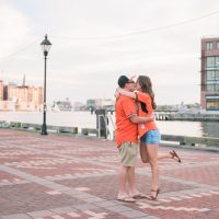 Logan & Marco   Engagement session in Fells Point!