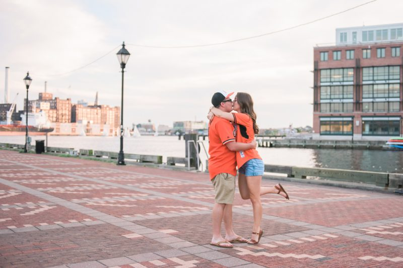 Logan & Marco | Engagement session in Fells Point!