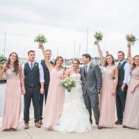 Jessica & Shane's Blush & Book-themed Baltimore Wedding