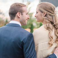 Ally & Brendan's Elegant and Cozy October Wedding | Clarksville, MD