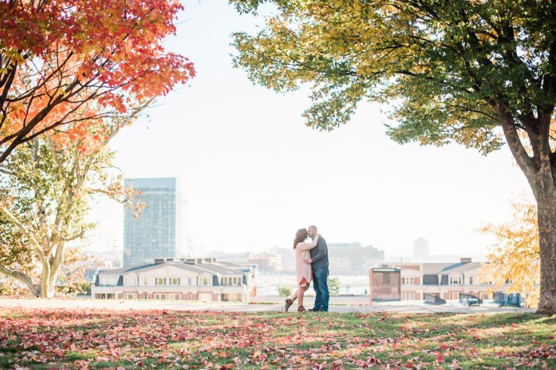 Lindsay & Brad's Baltimore Engagement Session