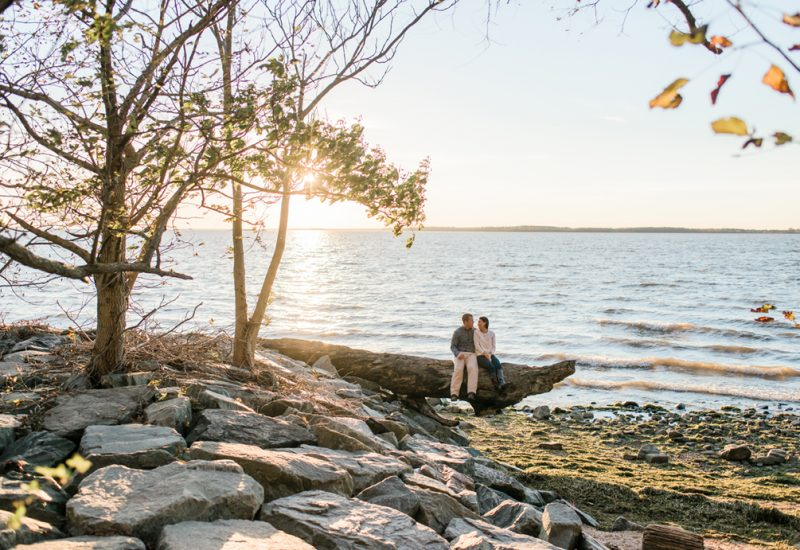 Kristina & Mike are engaged! North East and Harford County Session