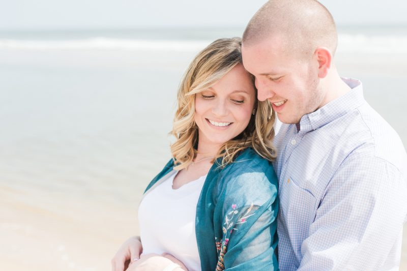 Jenna & Jake's Ocean City Maternity Session | OC Photographer