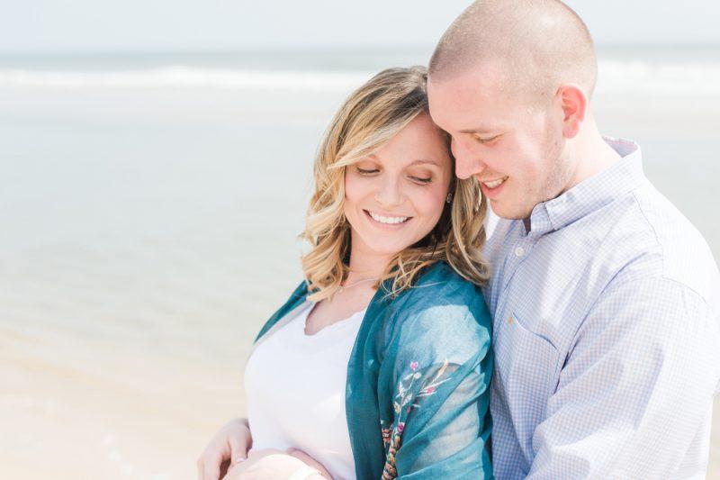 Jenna & Jake's Ocean City Maternity Session | OC Photographer