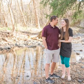 Ashley and Mark | Patapsco Engagement Session