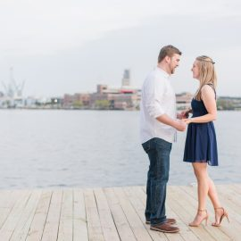 Valerie & Matt | Baltimore City Engagement Session