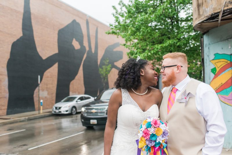 Christine & John's Carnival-themed Baltimore Wedding