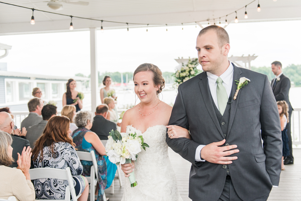 Loved The Navy And Seafoam Colors Such A Perfect Summery Vibe What Great Looking Bridal Party