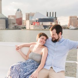 Josie & John's Baltimore Engagement Session