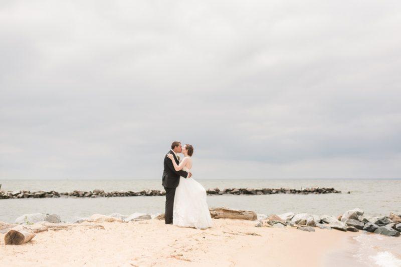 Ashley & Mark's Eastern Shore Wedding at Silver Swan Bayside