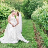 Lisa & Joey are married! Rocklands Farm Wedding
