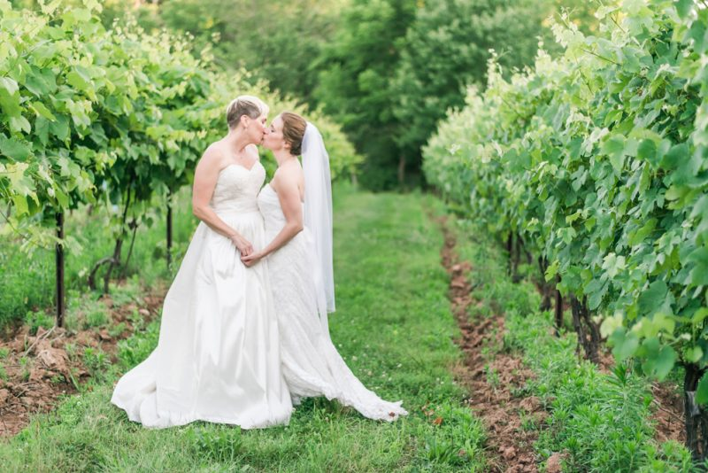 Lisa & Joey are married! Rocklands Farm Wedding