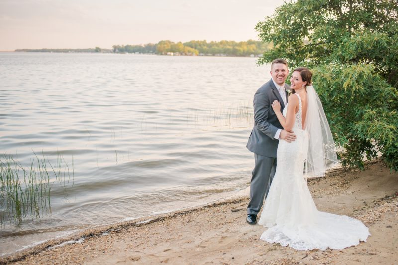 Becky & Chris are married! | Water's Edge Summer Wedding