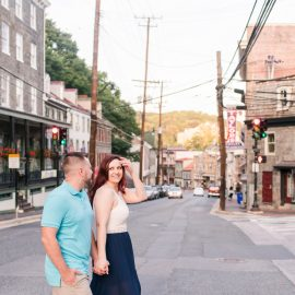 Stacy and Steve are getting married! | Ellicott City Engagement Session