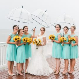 Wedding Tips and Advice from a Rainy Day Bride!