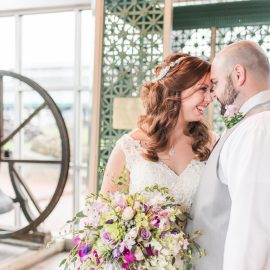 Lindsay & Brad's Baltimore Museum of Industry Wedding