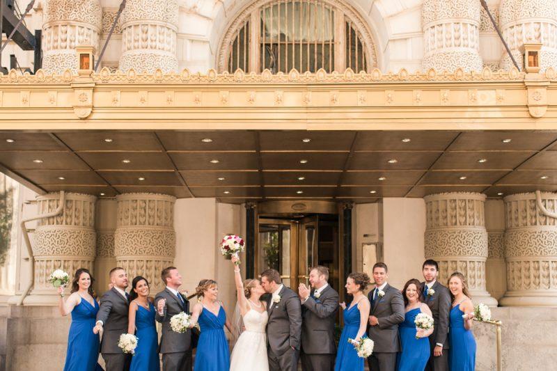 Valerie & Matt are married! Baltimore Wedding at the Belvedere