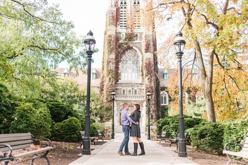 Megan & Mike's Lehigh Engagement Session