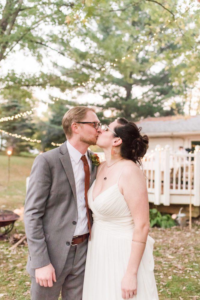 Fall Backyard Maryland Wedding Day