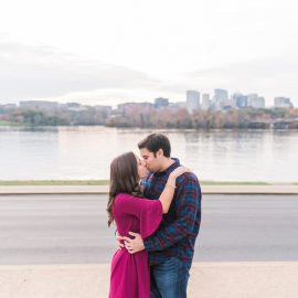 Ariel & Steven's Georgetown DC Engagement Session