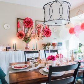 Friends Valentine's Day Dinner Party!