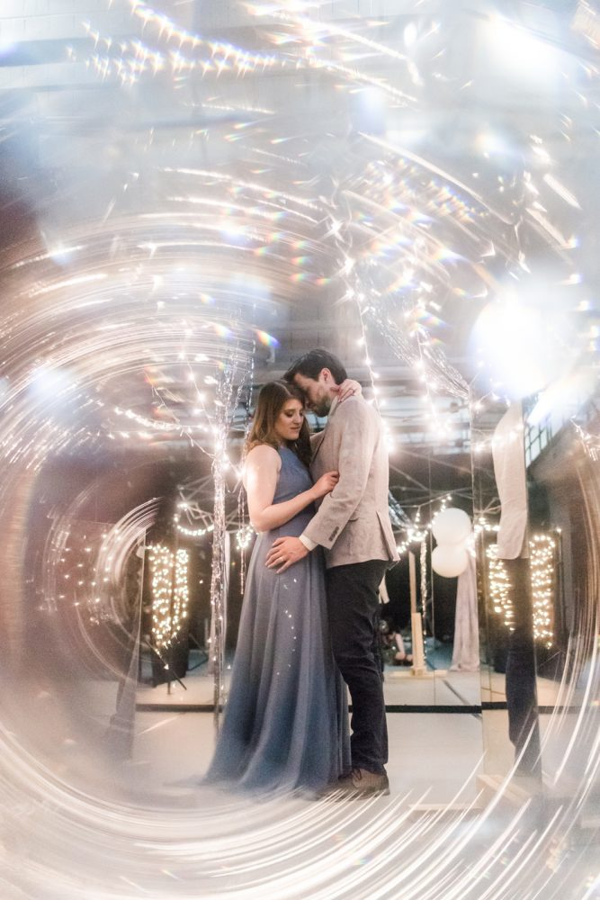 Love you to Infinity | Intimate Galaxy Themed Anniversary Dinner
