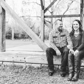 Nicole & Andrew: One month until the wedding! | Fall Engagement Session