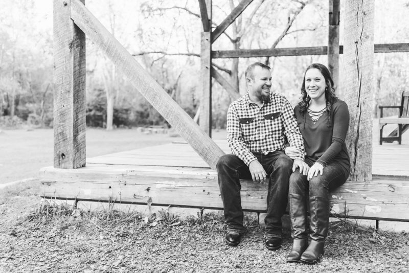 Nicole & Andrew: One month until the wedding!   Fall Engagement Session